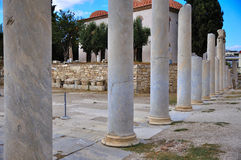 Agora Athens Royalty Free Stock Images