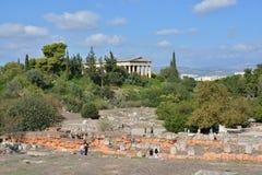 Agora of Athens Stock Photography