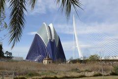 Agora budynek w Walencja Hiszpania Obrazy Royalty Free