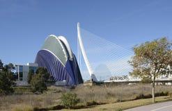 Agora budynek w Walencja Hiszpania Zdjęcie Royalty Free