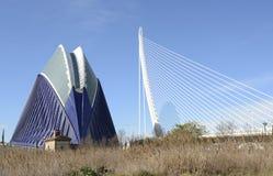 Agora budynek w Walencja Hiszpania Obrazy Stock