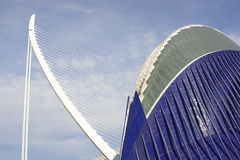 The Agora building in Valencia. Spain Stock Images