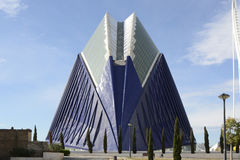 The Agora building in Valencia. Spain Stock Photography