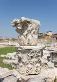 Agora columns (corinthian capital) Royalty Free Stock Photo