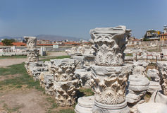 Agora columns (corinthian capital) 1 Royalty Free Stock Images