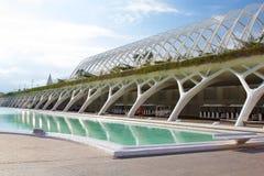 Agora dans la ville des arts, Valence Images stock