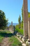 Agora del sud - Aphrodisias Fotografia Stock