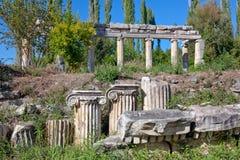 Agora del sud - Aphrodisias Immagine Stock Libera da Diritti