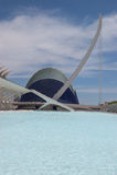 Agora e Puente dell'Assut de l'Or Immagini Stock Libere da Diritti