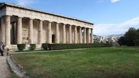 Agora et Acropole grecques banque de vidéos