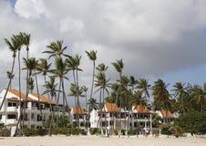 Agora hotel inclusivo de Larimar situado na praia de Bavaro em Punta Cana, República Dominicana Foto de Stock Royalty Free