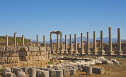 The Agora in Perge Turkey Stock Photography