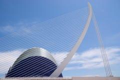 Agora and Puente dell'Assut de l'Or Stock Photo
