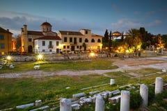 Agora romaine, Athènes Image libre de droits