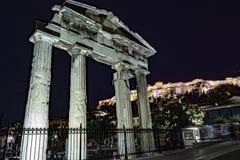 Agora romano Fotografie Stock Libere da Diritti