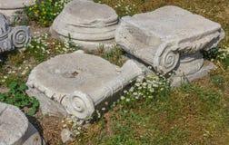 Agora ruins at spring Stock Images