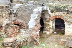 agora rzymska ruiny thessaloniki Fotografia Royalty Free