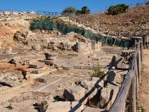 Agora, Segesta, Sicily, Włochy Zdjęcia Royalty Free