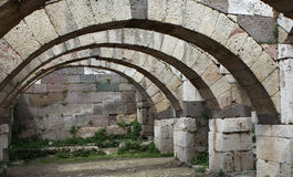 Agora of Smyrna Royalty Free Stock Photo