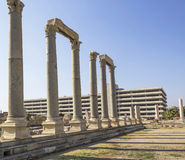 Agora of Smyrna Royalty Free Stock Photography