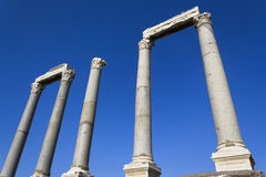 Agora of Smyrna Stock Images
