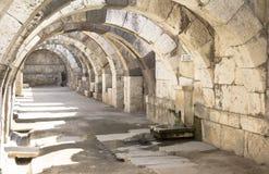 Agora of Smyrna. Fountain, izmir, Turkey Royalty Free Stock Photo