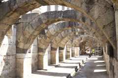 Agora of Smyrna. Fountain, izmir, Turkey Stock Photos
