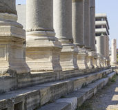 Agora of Smyrna Royalty Free Stock Images