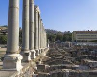 Agora of Smyrna. In izmir,TURKEY Stock Image