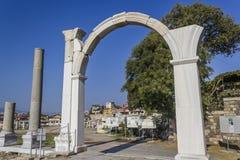 Agora of Smyrna. In izmir,TURKEY Royalty Free Stock Photos