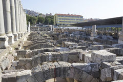 Agora of Smyrna Royalty Free Stock Image