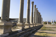 Agora of Smyrna Stock Photo