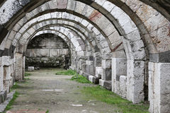 Agora of Smyrna in Izmir, Turkey. Agora of Smyrna in Izmir city, Turkey Stock Photo