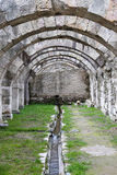 Agora of Smyrna in Izmir, Turkey. Agora of Smyrna in Izmir city, Turkey Royalty Free Stock Image