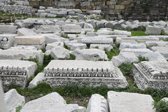 Agora of Smyrna in Izmir, Turkey Royalty Free Stock Photo