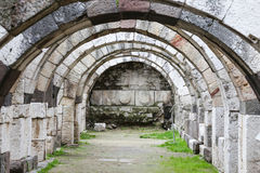 Agora of Smyrna in Izmir, Turkey Stock Image