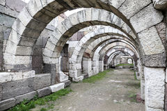 Agora of Smyrna in Izmir, Turkey Royalty Free Stock Images