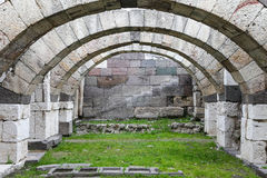Agora of Smyrna in Izmir, Turkey. Agora of Smyrna in Izmir city, Turkey Stock Images