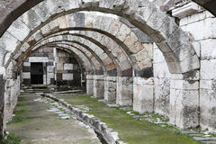Agora of Smyrna in Izmir, Turkey Royalty Free Stock Image