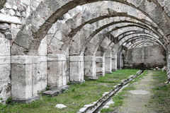 Agora of Smyrna in Izmir, Turkey Stock Photography