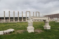 Agora of Smyrna in Izmir, Turkey Stock Images