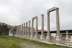 Agora Smyrna w Izmir, Turcja Zdjęcia Stock