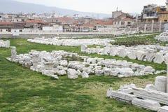 Agora Smyrna w Izmir, Turcja Zdjęcia Royalty Free
