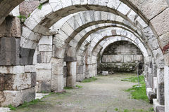 Agora Smyrna w Izmir, Turcja Obrazy Royalty Free