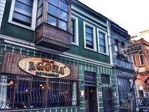 Agora Taverna, Balat royalty-vrije stock afbeelding