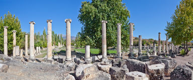 Agora van het zuiden - Aphrodisias Stock Foto's