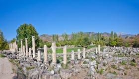 Agora van het zuiden - Aphrodisias Stock Afbeeldingen