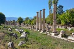 Agora van het zuiden - Aphrodisias Royalty-vrije Stock Fotografie