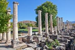 Agora van het zuiden - Aphrodisias Royalty-vrije Stock Foto's