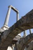 Agora von Smyrna, Izmir in der Türkei Stockbild
